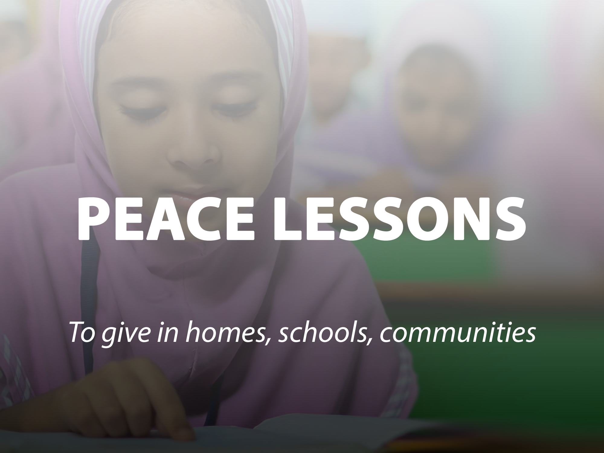 Peace Lessons